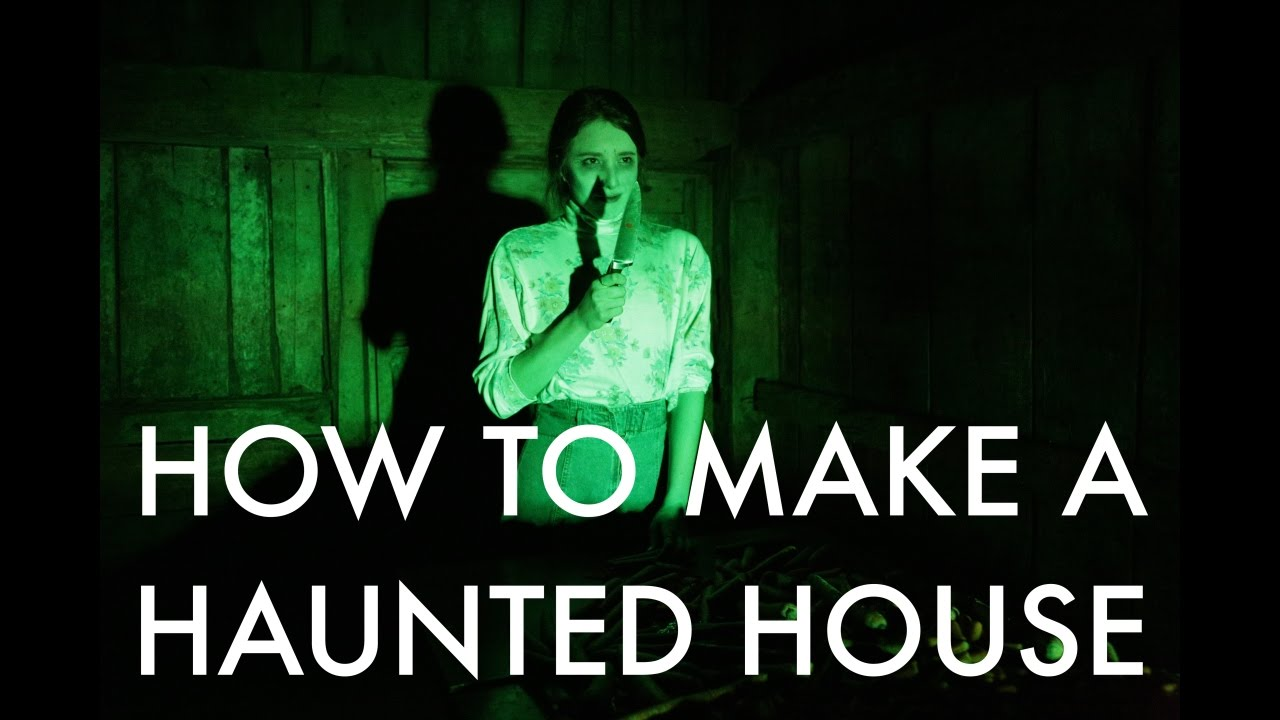 How to make a haunted house in process ep 1 youtube for Build a haunted house