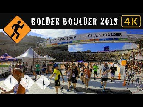 Virtual Treadmill Run - Bolder Boulder 10k 2018
