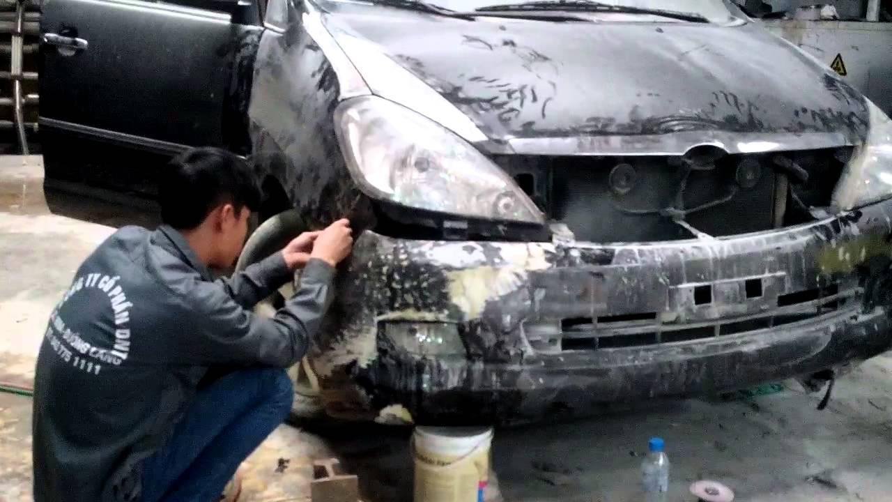 Sơn Gò Hàn Ô Tô Tai Nạn, Sơn Quây Vỏ Xe Ôtô Toyota KIA Ford Hyundai, Sửa Chữa Ôtô Uy tín