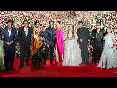 Kapil Sharma's WEDDING Reception Full Video HD - Ranveer,Deepika,Bharti,No Sunil Grover,Rekha