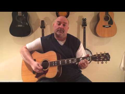 How to Play He Stopped Loving Her Today - George Jones (cover) Easy 4 Chord Tune