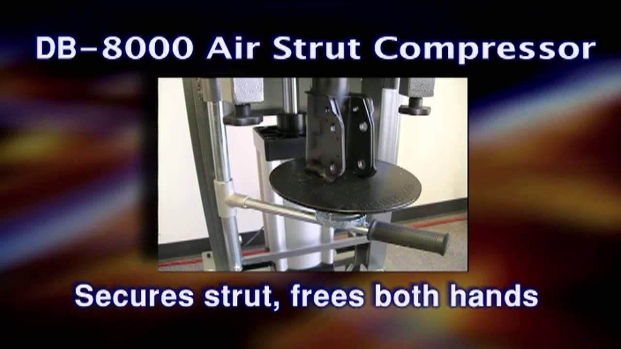 QSP DB 8000 Air Strut Compressor - YouTube