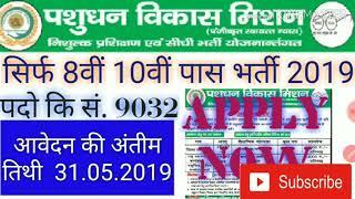 District coordinator vacancy 2019/ pashudhan Mitra vacancy 2019/ up gov job 2019 #anshtech