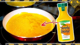 Download Removing The Liquid From Orange Juice?! Mp3 and Videos