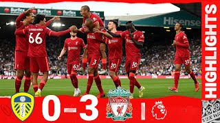 Highlights: Leeds United 0-3 Liverpool | Salah, Fabinho & Mane on target at Elland Road
