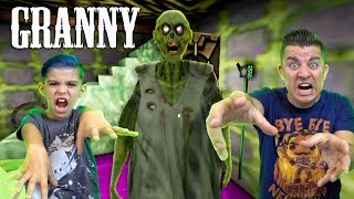 GRANNY IS A ZOMBIE!! Granny Zombie Mod Horror Gameplay