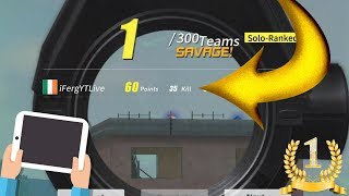 NEW 35 Kills World Record in Rules Of Survival   ROS Mobile Highest Kills   NEW MAP