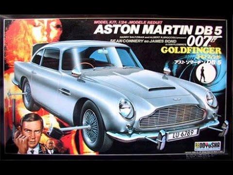 James Bond 007 Goldfinger Aston Martin 1 24th Scale Model Youtube