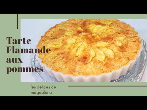 ♡-tarte-flamande-aux-pommes-et-amandes-♡---trÈs-facile-et-rapide-