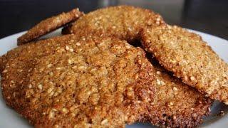 Tahini & Sesame Cookies - Gluten Free Recipe