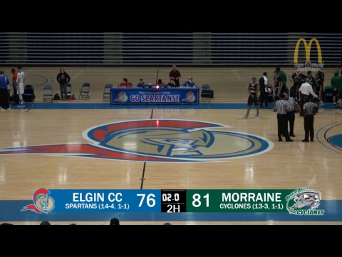 2018-19 - Elgin Community College Men's Basketball - ECC vs. Morraine Valley