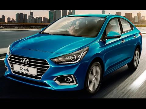 Hyundai Solaris (Verna) 2017 - 2018 - YouTube