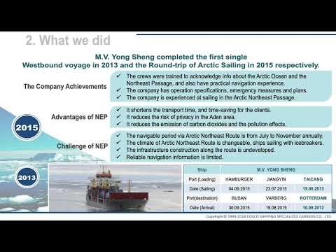 Sustainable Arctic Shipping
