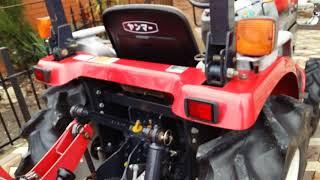 Видеообзор Японского мини-трактора YANMAR EF-120  новейшая модель.