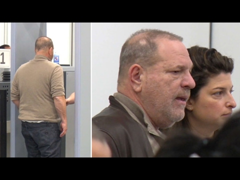 Hollywood Producer Harvey Weinstein Goes Through LAX TSA