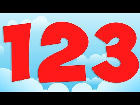 Numbers Song  Learning Numbers For Children  123 Number Song  Nursery Rhymes For Kids  Kids Tv