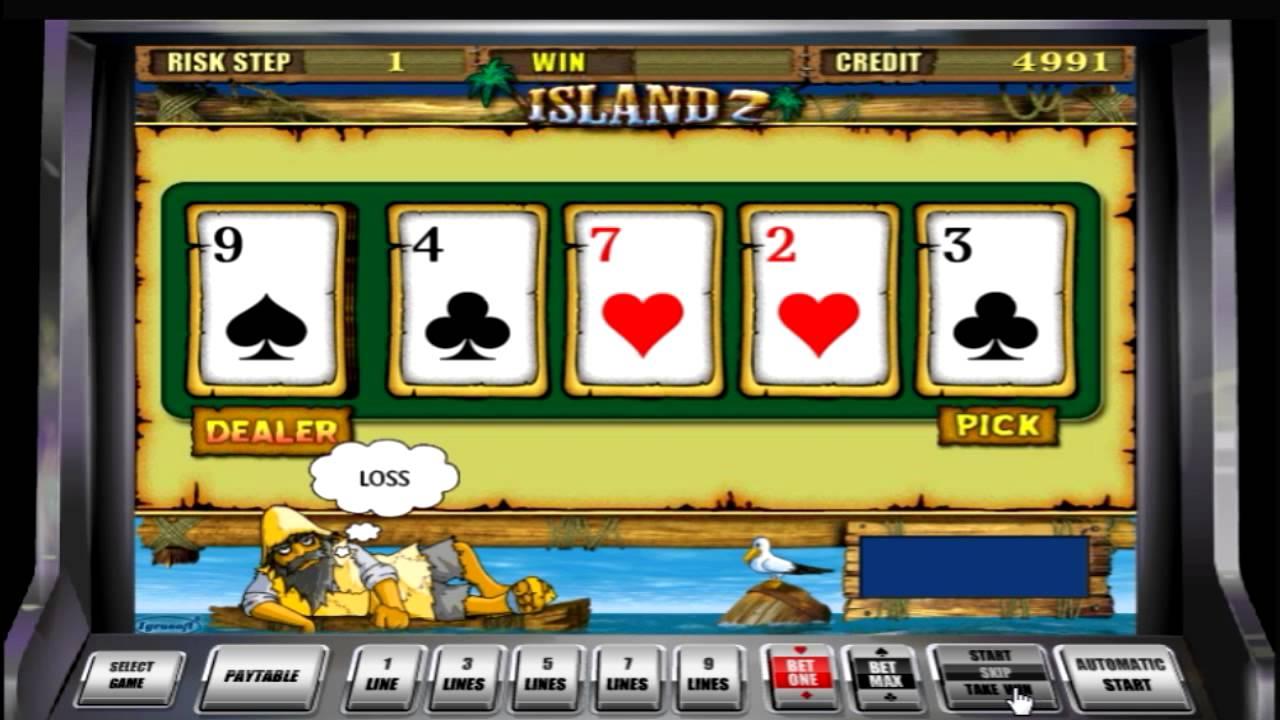 Остров 2 (Island 2) игровой автомат играть бесплатно в