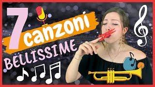 Le 7 Canzoni Italiane più Belle di Sempre! - Impara l'Italiano ascoltando MUSICA ITALIANA! 🎵 🎵