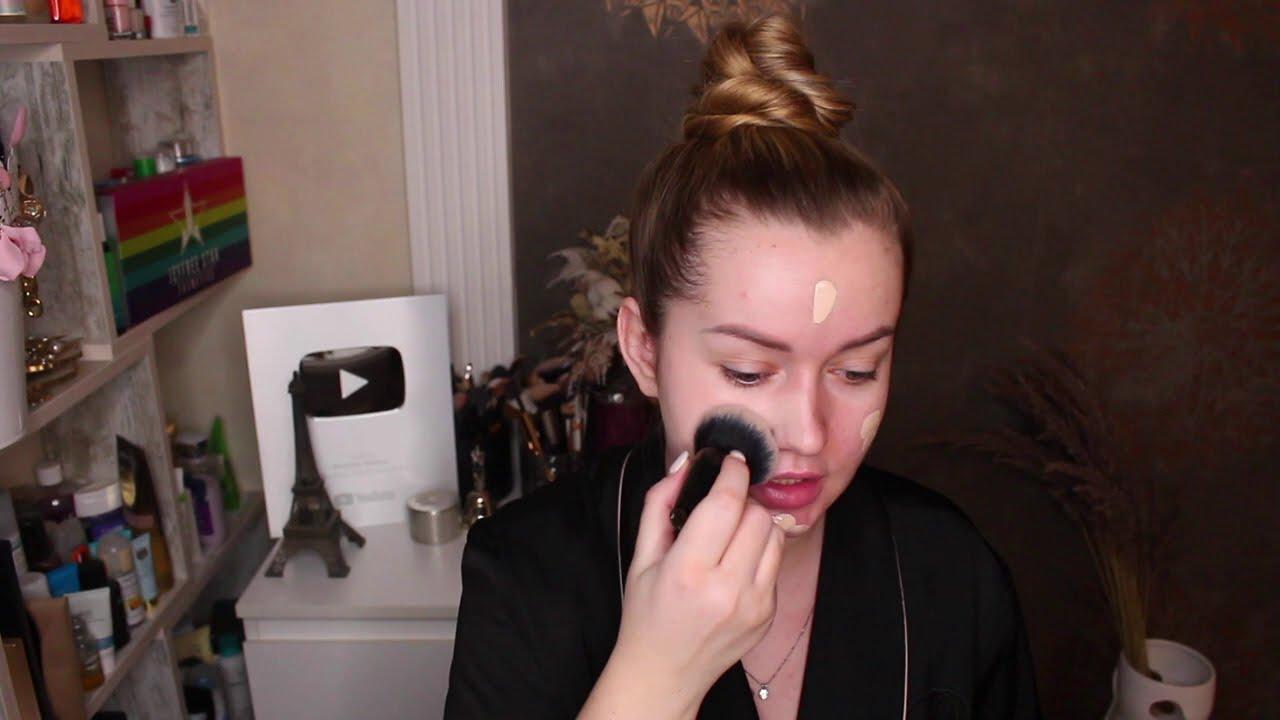 Легкий дневной макияж на каждый день Макияж ★★★ - YouTube