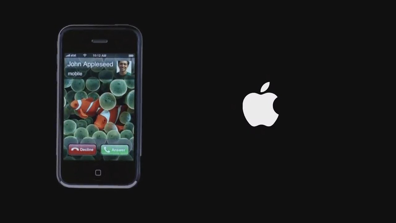 Iphone 2g Wallpaper Original First Iphone 1 Commercial Quot Hello Quot Youtube