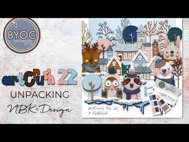 Walk thru the artCrush No22 - Winterwonderland Collection