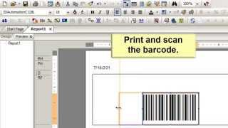 How to Encode a Tab (or Function) in a Code 128 Barcode in Crystal Reports.