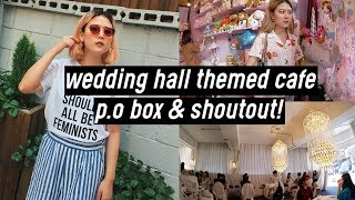 Wedding Hall Themed Cafe, Cute Stationery Shop, P.O Box and Shoutouts! | DTV #38
