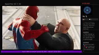 Team CYBR Live Stream January 18, 2019  -  Marvel's Spider-Man