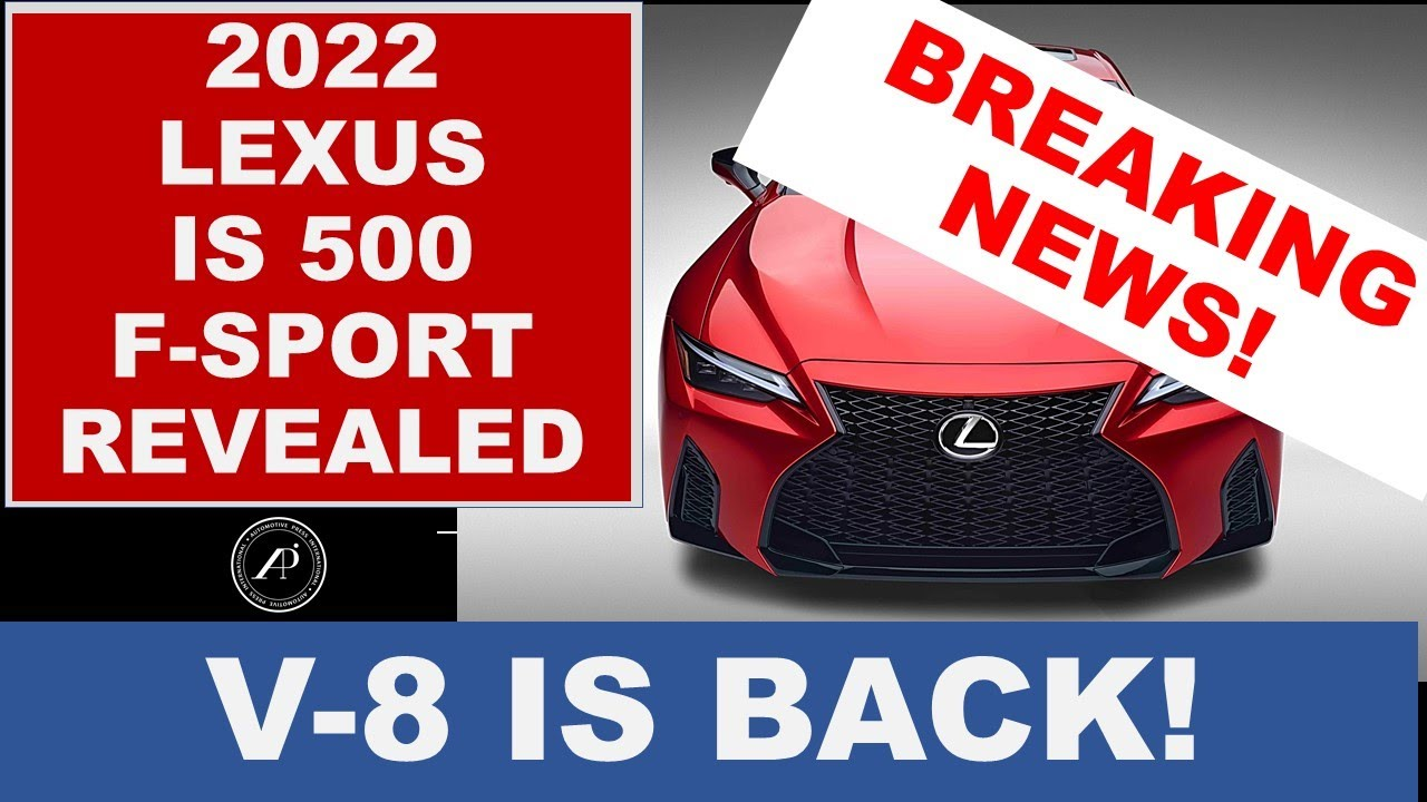 Lexus V-8 is Back in the IS