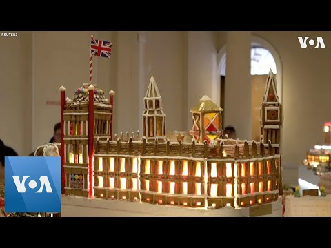 Architects in London Create Gingerbread City of the Future