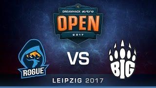 CS:GO - Rogue vs BIG - Cache - Group B - DreamHack ASTRO Open Leipzig 2017
