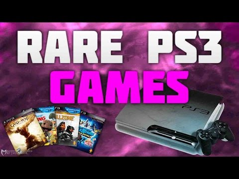 Top 10 Rarest PS3 Games | Most Valuable Playstation 3 Games