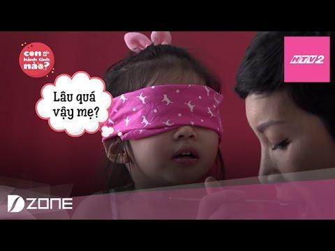 """Download HTV2 -  """"Thử thách vị giác"""" bé Thỏ bằng trò bịt mắt nếm kem"""