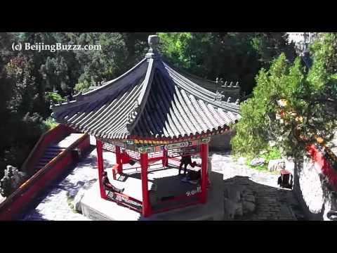 Beautiful Beihai Park in central Beijing, China