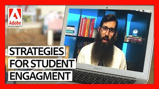 Three Strategies for Increasing Student Engagement Online   Teaching Online Masterclass