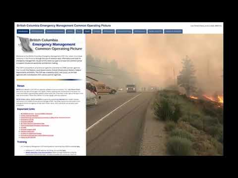 Managing the Response to COVID 19 in British Columbia