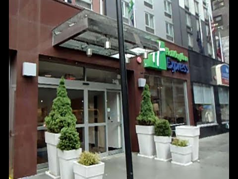 Holiday Inn Express - West 39th Street, New York, NY - Times Square - Manhattan Cheap Hotel Review