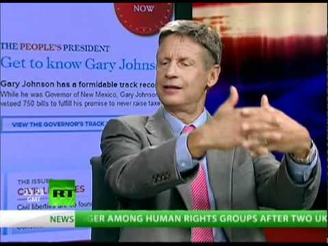 Gary Johnson gets to debate!