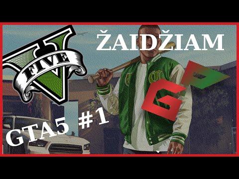 """MIRK TU, MIRK TU, TU IRGI GALI"" - Grand Theft Auto 5 Lietuviškai #1"