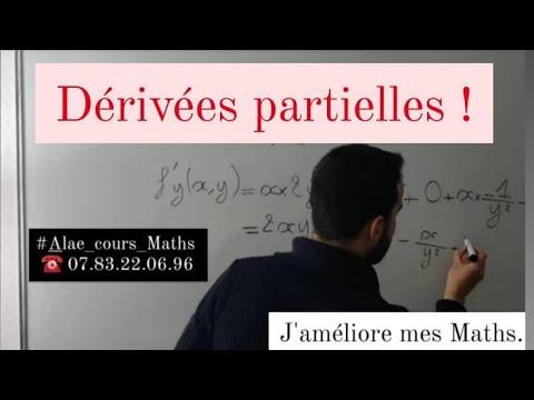 Download Dérivées partielles - fonctions à deux variables. # J'améliore mes Maths.