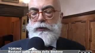 Torino  Restauri nella chiesa della Sindone   GRP Televisione
