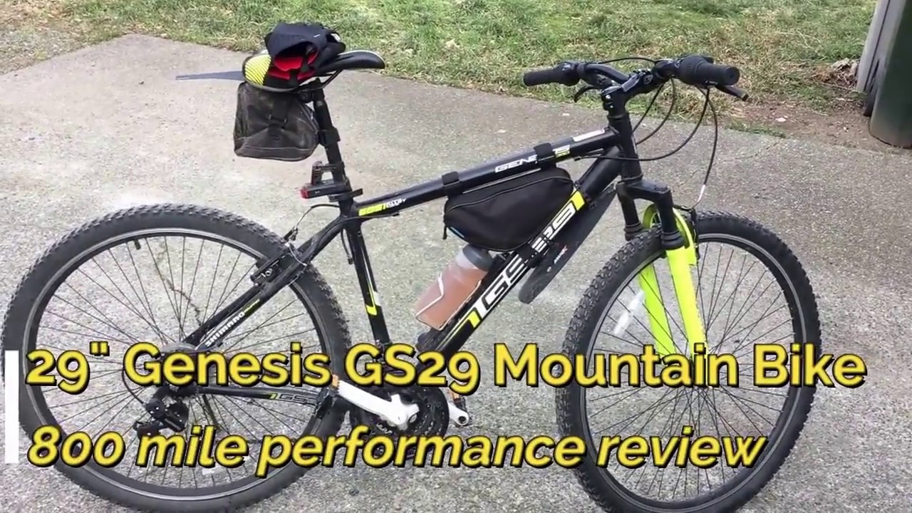 29 Genesis Gs29 Mountain Bike 800 Mile Performance Review Youtube