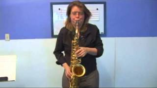 Saxophone Chords: A Minor 7th