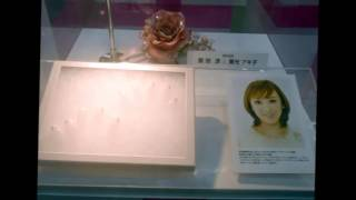 ネイルエキスポ2012で、ネイルチップの展示がありました ピンクリボン運...
