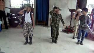 SOLDADO BIPPER NIÑOS LLENOS DE LA PRESENCIA DE DIOS CASA DE ORACION EL SHADDAI