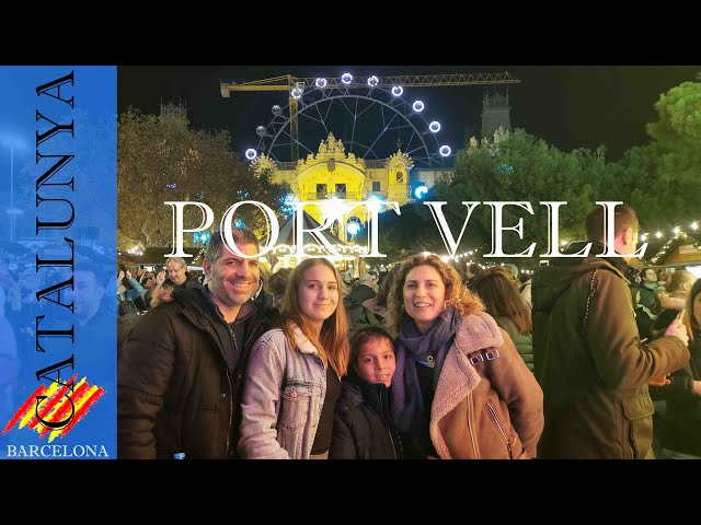 El Port Vell estrena feria de navidad 2019 | Barcelona #12
