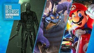Outlast 2, Dragon Quest Heroes II, Mario Kart 8 Deluxe - New Releases
