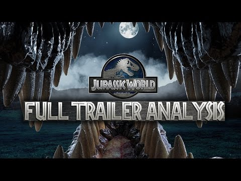 Jurassic World Full Trailer - Scene By Scene Analysis