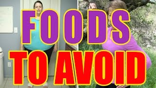 WORST FOODS FOR WEIGHT LOSS | FOODS TO AVOID