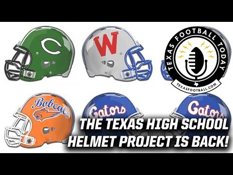 college football helmets design